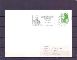 Rép. Française - Ve Bourse Aux Minéraux Fossiles - Eymoutiers 20/5/88   (RM10422) - Fossilien