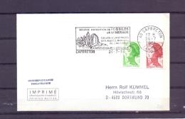 Rép. Française - Bourse Exposition Minéraux - Fossiles - Capbreton 26/7/84 (RM10464) - Fossilien