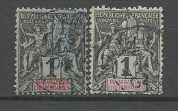 MADAGASCAR N� 28 X 2 NUANCES  OBL
