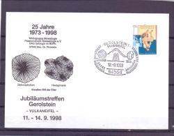 Deutschland - 25 Jahre Motigruppe  Palaeontologie - Mineralogie - Gerolstein 12/9/1998  (RM10565) - Fossilien