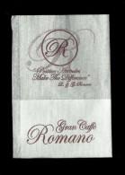 Tovagliolino Da Caffè - Caffè Romano  2 - Solofra  ( Avellino ) - Reclameservetten