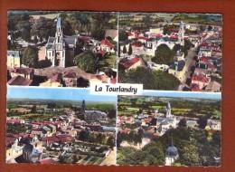 1 Cp En Avion Au Dessus De  La Tourlandry - Francia