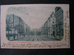 == Berlin Schöneberg 1901 Strasse  Bug Ecke Rechts Oben - Schöneberg