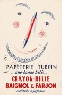 Papeterie Turpin  (Baignol Et Farjon )-  Format 14 X   21 Cm - Stationeries (flat Articles)