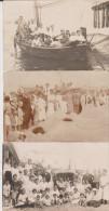 Lot 3 Foto Karte à Identifier Certainement Ahlbeck - Allemagne