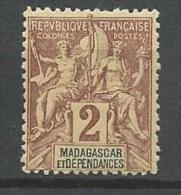 MADAGASCAR N� 29 NEUF* CHARNIERE / MH