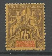 MADAGASCAR N� 39 NEUF* CHARNIERE / MH