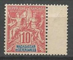 MADAGASCAR N� 43 NEUF SANS GOMME