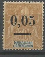 MADAGASCAR N� 52 NEUF* CHARNIERE / MH