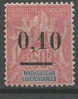 MADAGASCAR N� 53 NEUF* CHARNIERE / MH