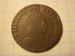 France Liard - Louis XIV 1655/8 E - 987-1789 Royal
