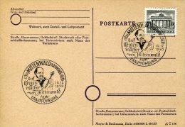 4505 Germany, Special  Postmark 1950 Mittenwald  Cinema,  Movie, Film - Film