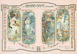 """75 - PARIS - CPSM - Le """"Grand Café Capucines"""" 4 Bld Des Capucines - Carte Publicitaire - Arrondissement: 05"""