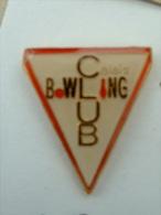 Pin´s BOWLING CLUB CALAIS - Bowling