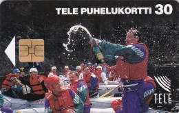 Finland, D033, Kuusamo, Sport, 2 Scans. - Finlande