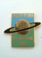 Pin´s GOLF - PRACTICE DE L'HIPPODROME REIMS - Golf