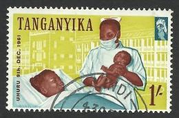 Tanganyika, 1 S. 1961, Sc # 51, Mi # 104, Used. - Kenya, Uganda & Tanganyika