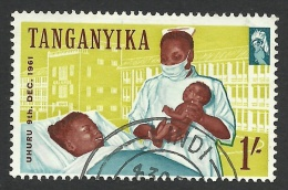 Tanganyika, 1 S. 1961, Sc # 51, Mi # 104, Used. - Tanganyika (...-1932)