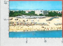CARTOLINA VG ITALIA - RIMINI - Riviera Adriatica - Spiaggia Giardini Alberghi - 10 X 15 - ANN. 1963 - Rimini