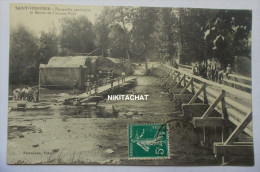 SAINT VINNEMER-Passerelle Provisoire Et Restes De L'ancien Pont - Non Classés