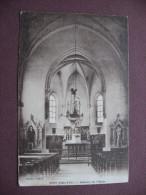 CPA 21 SPOY Intérieur De L'Eglise Canton IS SUR TILLE - France