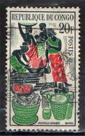 CONGO BRAZZAVILLE - 1962 - MERCATO A BRAZZAVILLE - USATO - Congo - Brazzaville