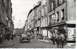 57 THIONVILLE - Rue De Luxembourg (Traction Citroën, Commerces, Animée) - Thionville