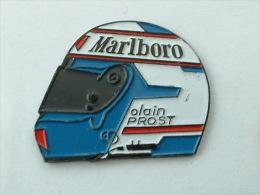 PIN´S CASQUE ALAIN PROST - MARLBORO - F1