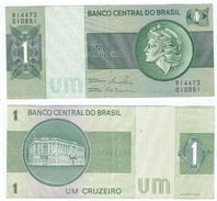 Brasil - Brazil 1 Cruzeiro 1980 Pick-191A-c Ref 235-3 - Brasil