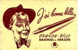 Buvard Baignol Et Farjon - Blotters