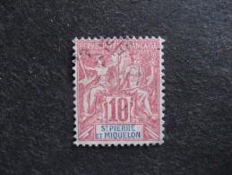 Saint Pierre Et Miquelon:  TB  N° 73, Oblitéré . - St.Pierre Et Miquelon