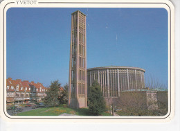 YVETOT (76-Seine Mar.)Eglise Saint Pierre, Ed. La Cigogne 1970 Environ - Yvetot