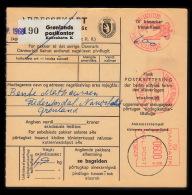 1968. GRØNLANDS POSTVÆSEN KØBENHAVN K 26.9.68 600 ØRE KGL. POST. Adressekort. Frederiks... (Michel: ) - JF500285 - Zonder Classificatie