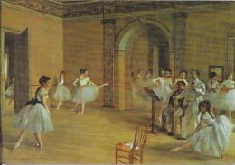 PARIS  - 75 -  Musée Du Jeu De Paume - Le Foyer De La Danse à L'Opéra De Edgar DEGAS - VAN - - Museen