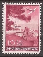 1937 340-47 C-JUGOSLAVIJA JUGOSLAWIEN KROATIEN HRVATSKA PERF11 1-2 -12 1-2  POSTA AEREA TURISMO  MNH - 1931-1941 Regno Di Jugoslavia