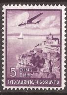 1937 340-47 C-JUGOSLAVIJA JUGOSLAWIEN MAKEDONIJA MAKEDONIEN PERF11 1-2 -12 1-2  POSTA AEREA TURISMO MNH - 1931-1941 Royaume De Yougoslavie