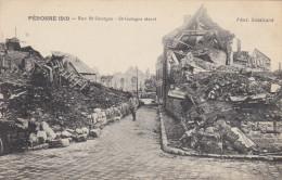 PERONNE 1919 RUE SAINT GEORGES - Peronne