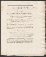 DECRET, Qui Ordonne Le Prompt Jugement De La Veuve CAPET Au Tribunal Révolutionnaire, Le 3 Octobre 1793. - Gesetze & Erlasse