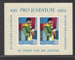 SWISTERLAND MNH** MICHEL BL 18 PRO JUVENTUTE - Blocs & Feuillets