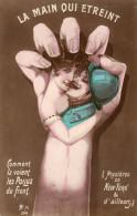 LA MAIN QUI ETREINT Comment La Voient Les Poilus Du Front. Mystères De New-York - Guerra 1914-18