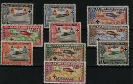 02213 España EDIFIL 363 - 372 * Catalogo 210,-€ - Unused Stamps