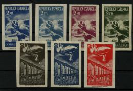 02229 España EDIFIL NE 39 - 45 2ª Tirada (*) Lujo - 1931-50 Neufs