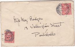 1918 DUNFERMLINE Cds GB GV Stamps COVER To Portobello - 1902-1951 (Rois)
