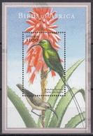 Liberia MiNr. Bl. 433 ** Afrikanische Vögel - Liberia