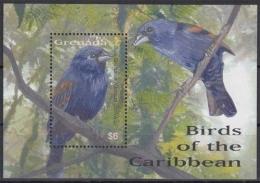 Grenada MiNr. Bl. 711 ** Vögel Der Karibik - Grenade (1974-...)