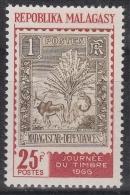 Madagaskar MiNr. 554 ** Tag Der Briefmarke - Madagaskar (1960-...)