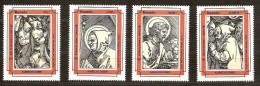 Ouganda Uganda  1993 Yvertn° 1019-22 *** MNH Cote 8 Euro Noël Christmas Kerstmis - Ouganda (1962-...)