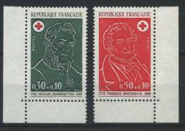 FRANCE   Croix Rouge 1972   N° Y&T  1735 Et 1736  ** - France