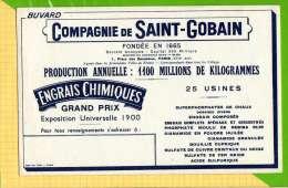 BUVARD & Blotting Paper : Compagnie De Saint GOBAIN   Engrais Chimique - Agriculture