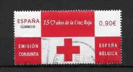 LOTE 255  ///  ESPAÑA 2013  150 AÑOS DE LA CRUZ ROJA - 2011-... Usados